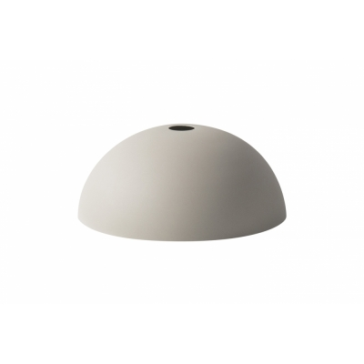 Ferm Living - Dome Abat-Jour pour Collect Suspension Gris Clair