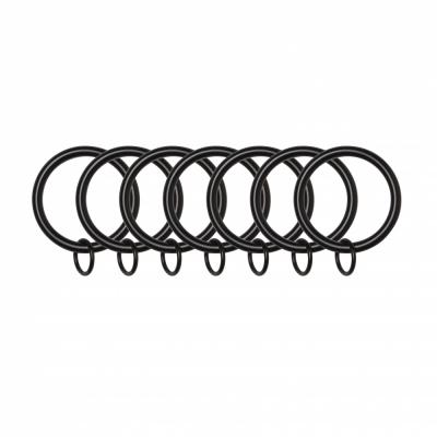 Umbra - Link Vorhangringe (7 Stk.) Schwarz