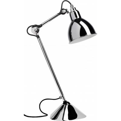 DCW - Lampe Gras N°205 Table Lamp - Chrome Frame