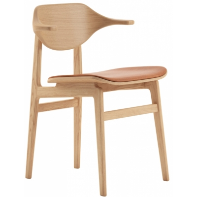 Norr11 - Buffalo Dining Stuhl Natürlich - Leder