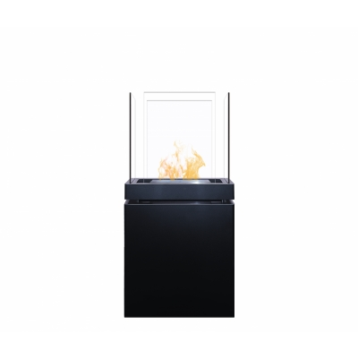 Radius - Semi Flame Ethanol Fireplace
