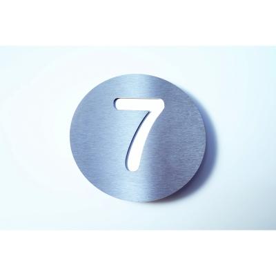Radius - Letterman House Number White   7