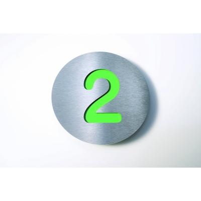 Radius - Letterman House Number Green | 2