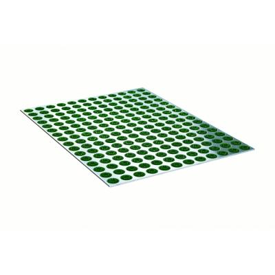 Radius - Feet Back3 Fußmatte Grün
