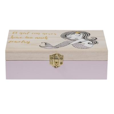 Bloomingville - Kids Jewelry Box 1 Schmuckkasten mit Schloss