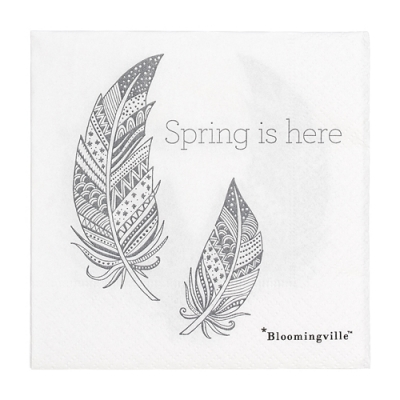 Bloomingville - Easter Napkin 10 Serviette