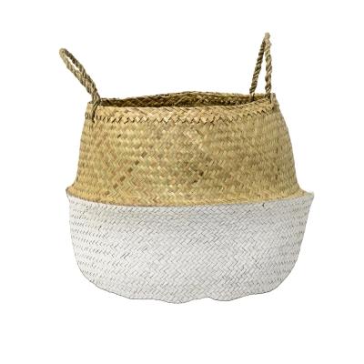 Bloomingville - Basket Korb Weiß