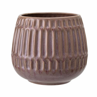 Bloomingville - Flowerpot Brown Stoneware V2
