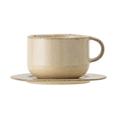 Bloomingville - Nugga Tasse mit Untertasse Natur