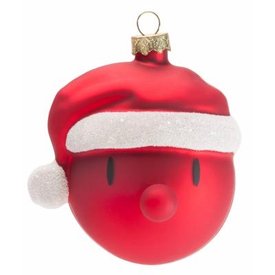 Mini Weihnachtskugeln.Hoptimist Mini Santa Weihnachtskugeln 3er Set