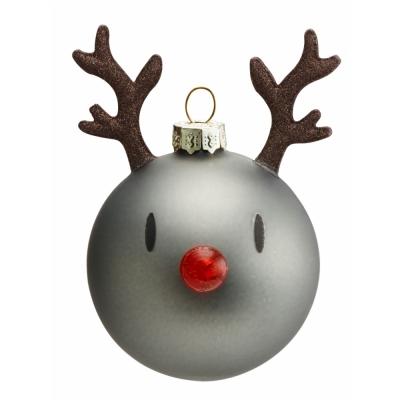 Hoptimist - Mini Reindeer Weihnachtskugeln (3er Set)