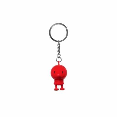 Hoptimist - Schlüsselanhänger Rot
