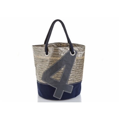 727 Sailbags - Big Bag Tech Classic Blue Navy. No. 4 Grey
