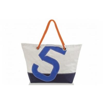 727 Sailbags - Carla Travelling Bag Dacron Colored Blue Navy. No. 5 Blue