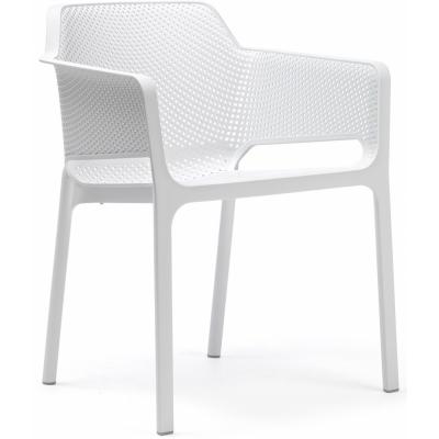 Nardi - Net Armlehnstuhl Weiß