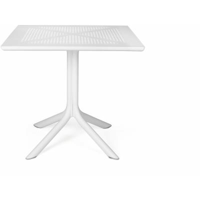 Nardi - Clip Tisch 80x80 cm | Weiß