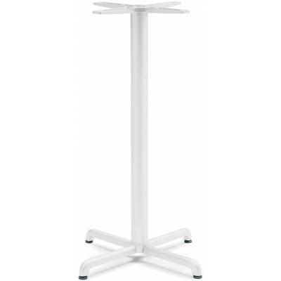 Nardi - Calice Alu Tischgestell Hoch   Weiß
