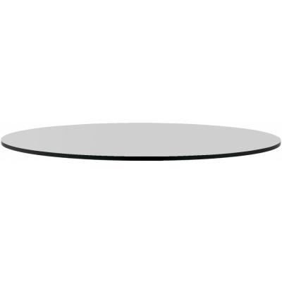 Nardi - Piano Laminato Tischplatte rund Ø 70 cm | Grau