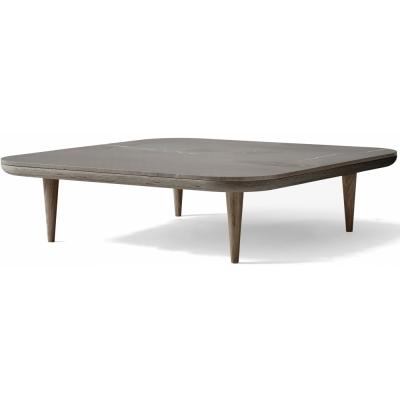 &tradition - Fly SC11 Lounge Table Pietra Di Fossena / Oak smoked