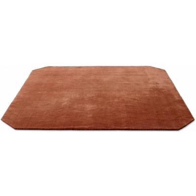 &tradition - The Moor AP6 Teppich Quadratisch 240 x 240 cm | Rot