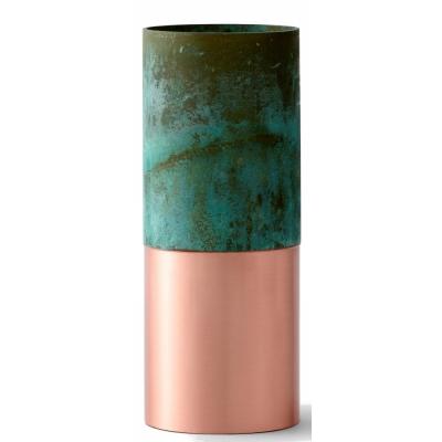 &tradition - True Color LP3 Vase Kupfer / Grün