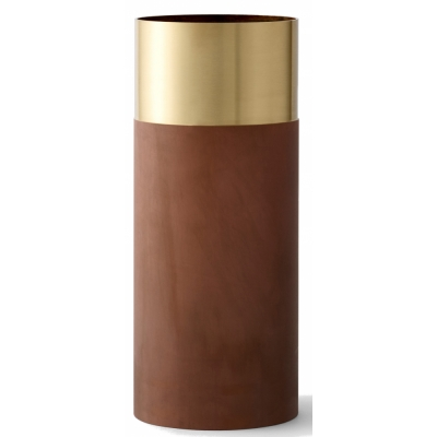 &tradition - True Color LP2 Vase Brass / Terracotta