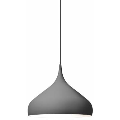 &tradition - Spinning BH2 Pendant Lamp 40 cm | Dark Matt Grey