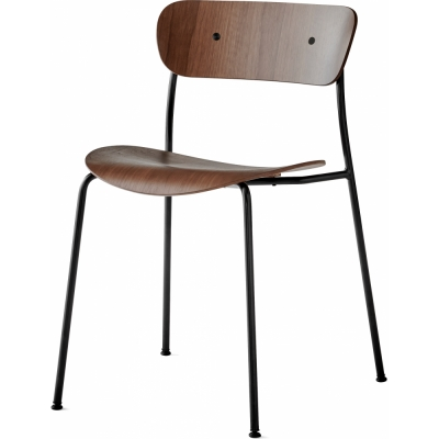 &tradition - Pavilion AV1 Chair Lacquered walnut