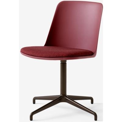 &tradition - Rely HW12 Stuhl mit Schwenkfuß und Sitzkissen