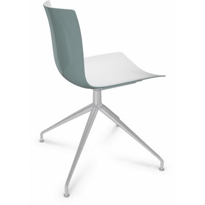 Arper - Catifa 46 0368 Stuhl Sternfuß zweifarbig