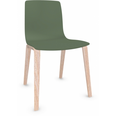 Arper - Aava 3947 Chair Wood Legs