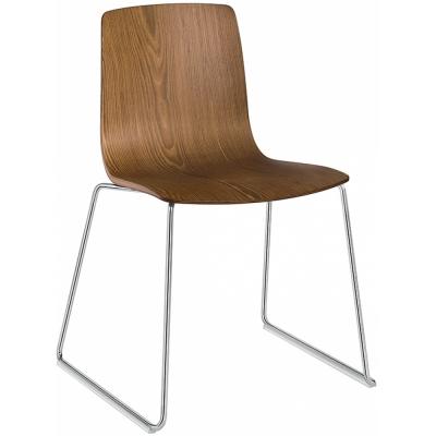 Arper - Aava 3908 chaise luge en bois
