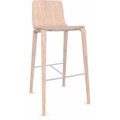 Arper - Aava 5901 Barhocker Holz