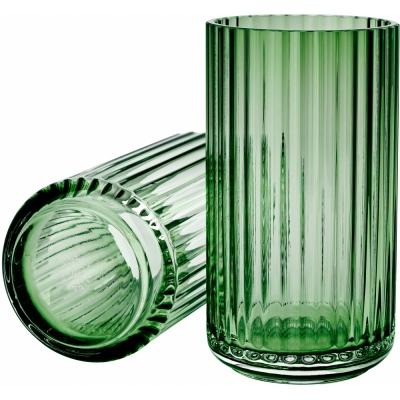 Lyngby - Vase Glass Copenhagen green 15 cm
