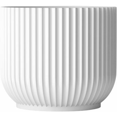 Lyngby - Flowerpot white large