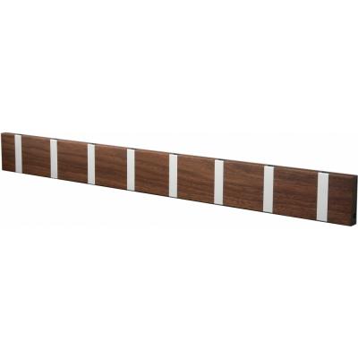 LoCa - Knax Garderobenleiste Holz 8 Haken