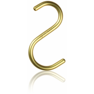 Nomess Copenhagen - S-Hook Haken (5 Stk.) Medium   Gold