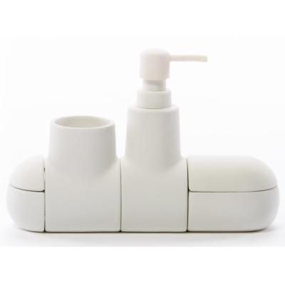 Seletti - Submarino set d'accessoires Blanc