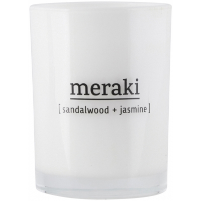 Meraki - Duftkerze Sandalwood & Jasmine