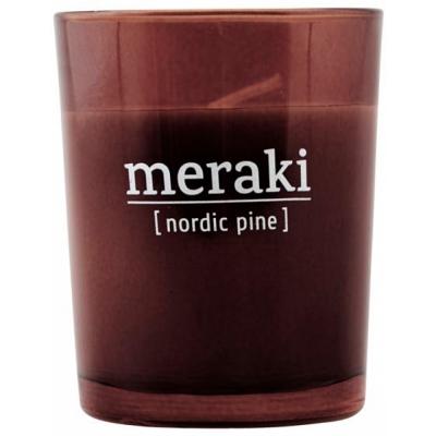 Meraki - Duftkerze Nordic Pine 12 Stunden Brenndauer
