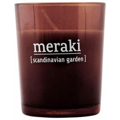 Meraki - Duftkerze Scandinavian Garden 12 Stunden Brenndauer