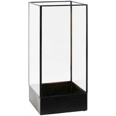 House Doctor - Plant Display Box 21 x 21 x H 45 cm | Antique Black