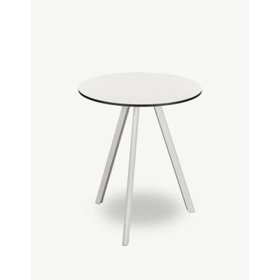 Skagerak - Overlap Tisch rund Outdoor 62 cm | Silberweiß