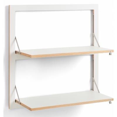 Ambivalenz - Fläpps Regal 80x80-2 cm, 2 Flächen