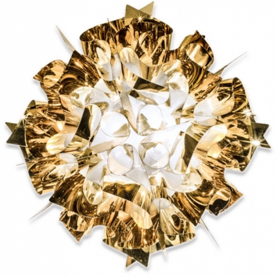 Slamp - Veli Wand-/Deckenleuchte Gold