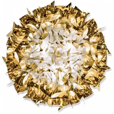 Slamp - Veli Large Wand-/Deckenleuchte Gold