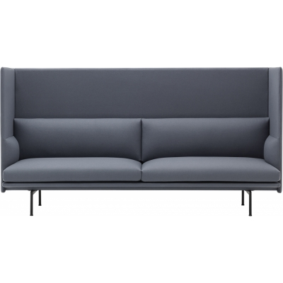 Muuto Outline Highback 3 Seater Sofa Nunido