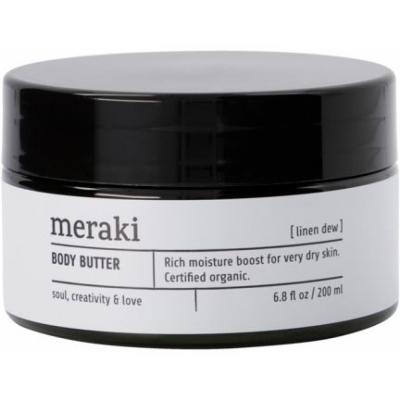 Meraki - Cosmos Organic Body Butter, Linen Dew, 200 ml