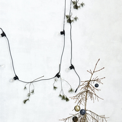 House Doctor - LED light bulb black for light garland function