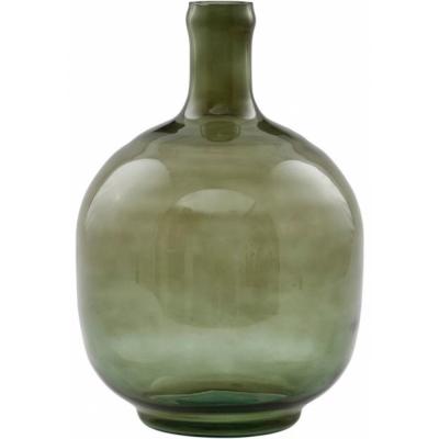 House Doctor - Tinka Vase Ø 17 cm, dark green